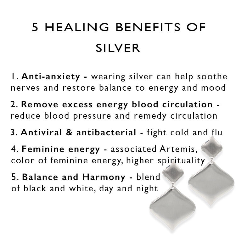5 health benefits of silver