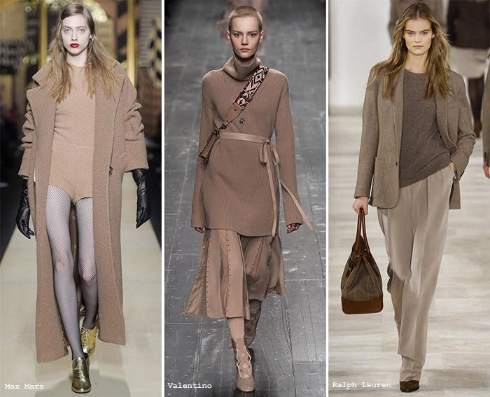 Fall Winter 2016 Fashion Color #5 Warm Taupe