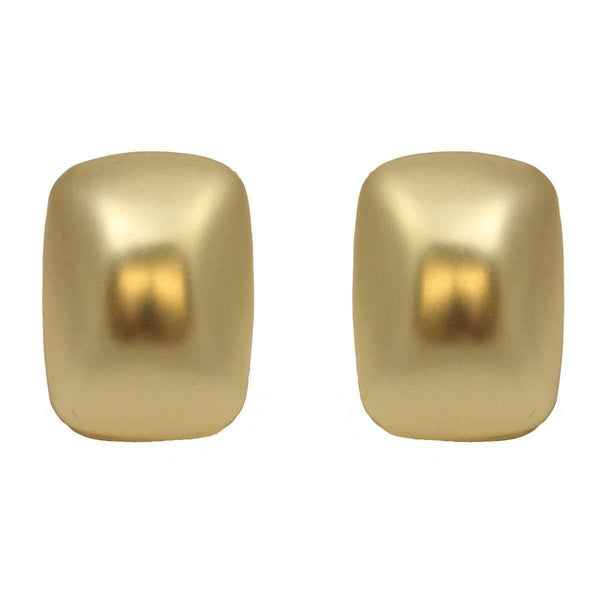 TIMELESS Gold Stud Clip On Earrings