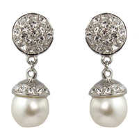 Drops - Double Swarovski Pearl Element Drop