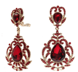 Drops - Large Crown Rococo Crystal Double Drop