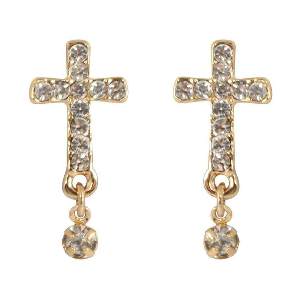 Drops - Swarovski Crystal Cross Drop