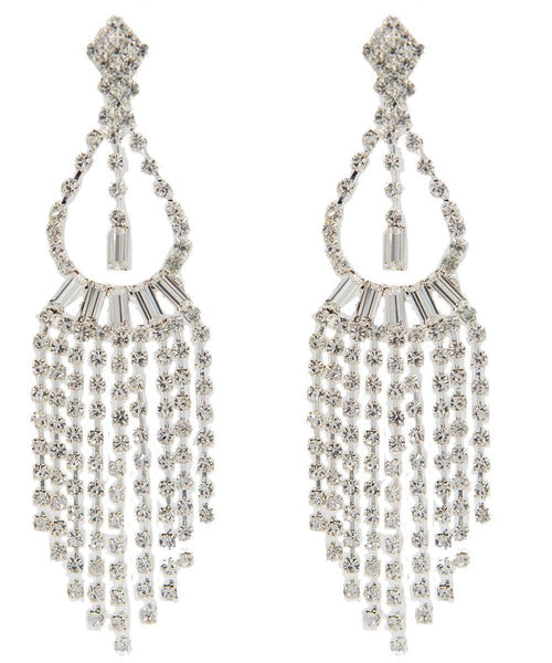 Drops - Victorian Waterfall Crystal Chandelier Dangle Double Drop