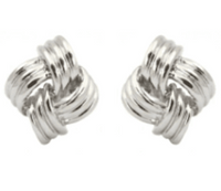 Studs - Classic Gold & Silver Knot Stud
