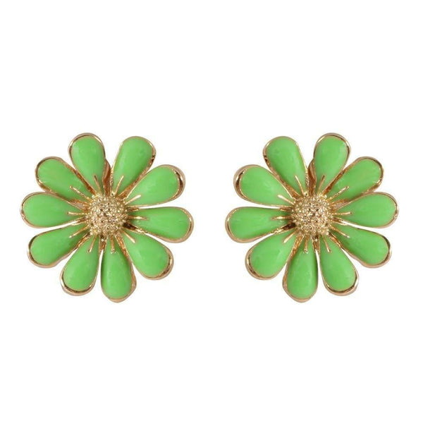 Studs - Colored Daisy Flower Stud
