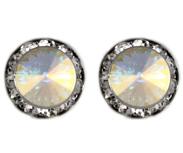 Studs - Colored Swarovski Crystal Stud