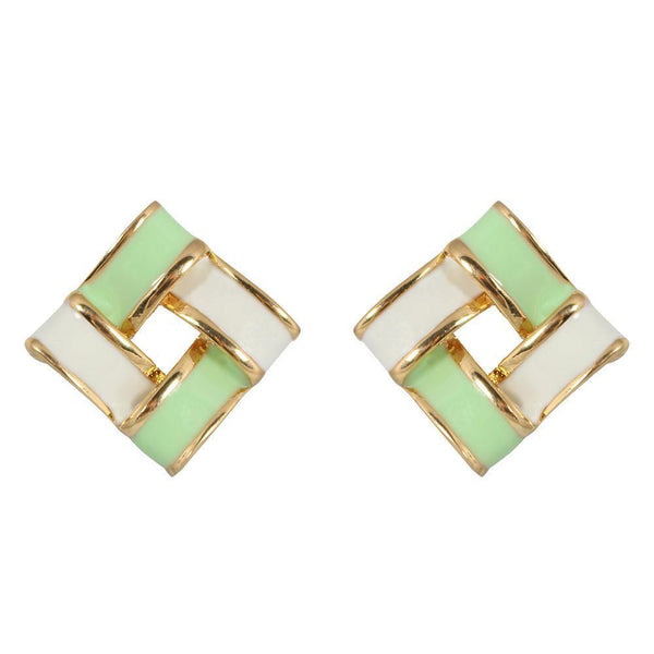 Studs - Contemporary Colored Square Stud