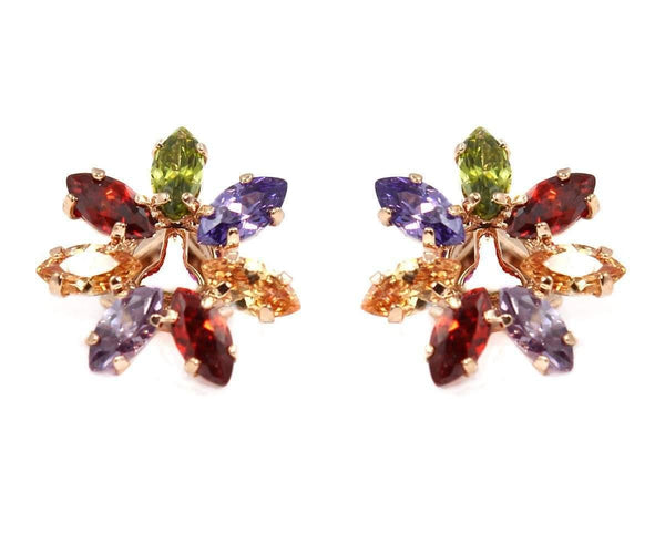 Studs - Swarovski Element Flower Stud
