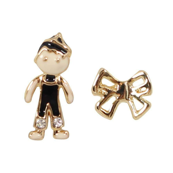 Studs - Teddy & Bow Set Stud