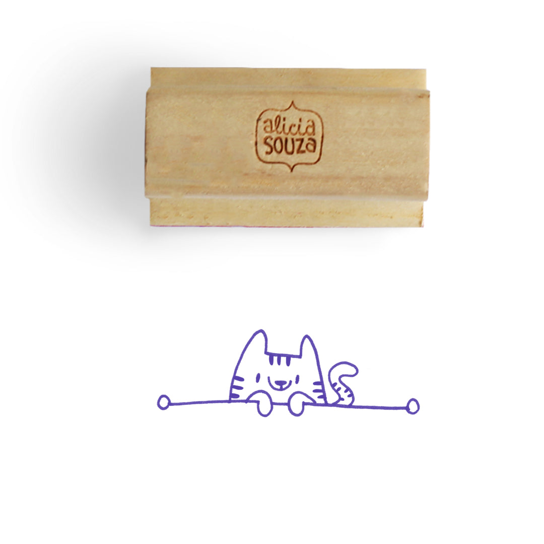 Kitty Address Stamp