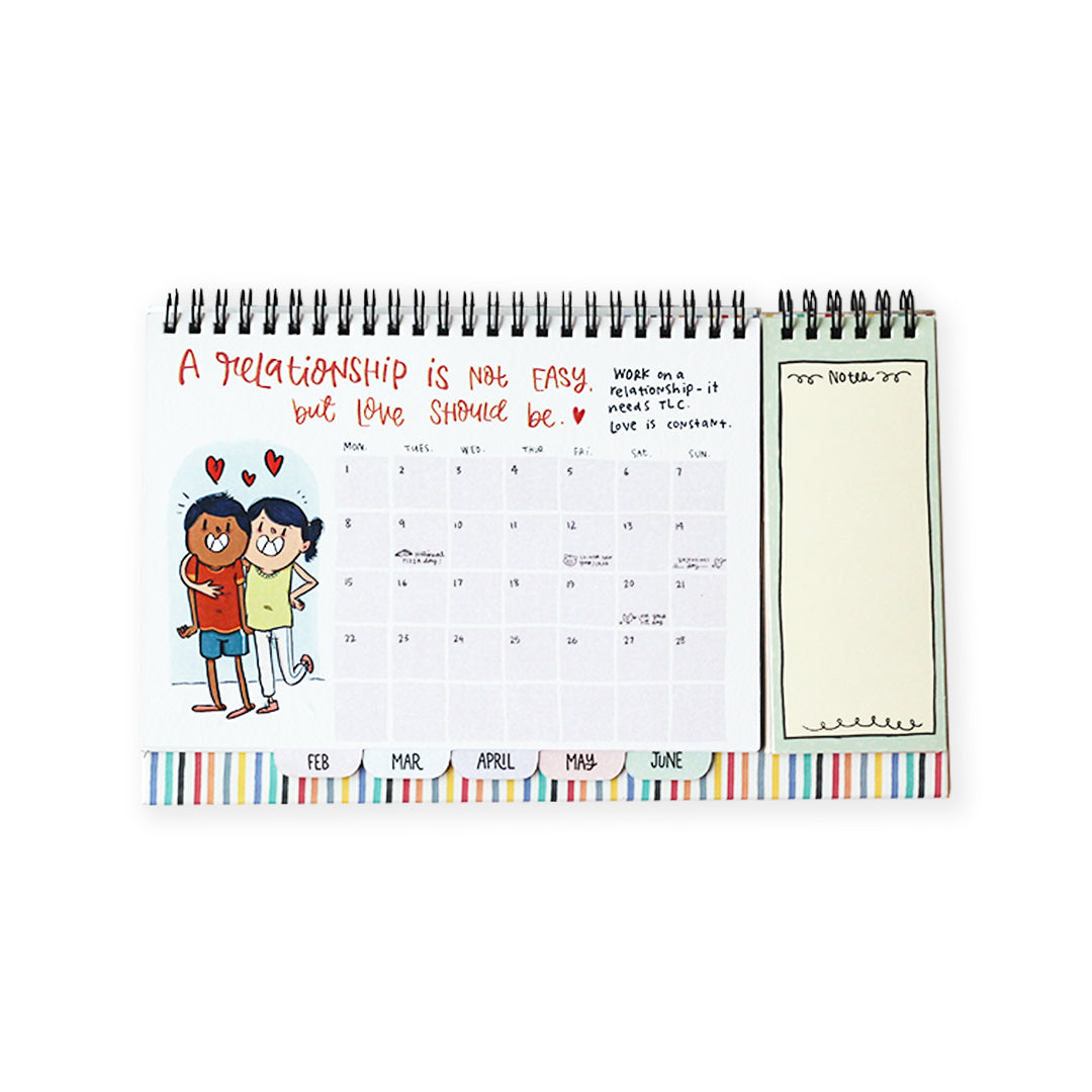 2021 Little Happy Notes Desk Calendar