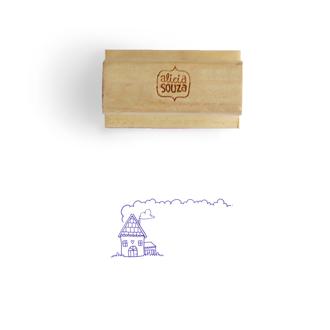 House Address Stamp