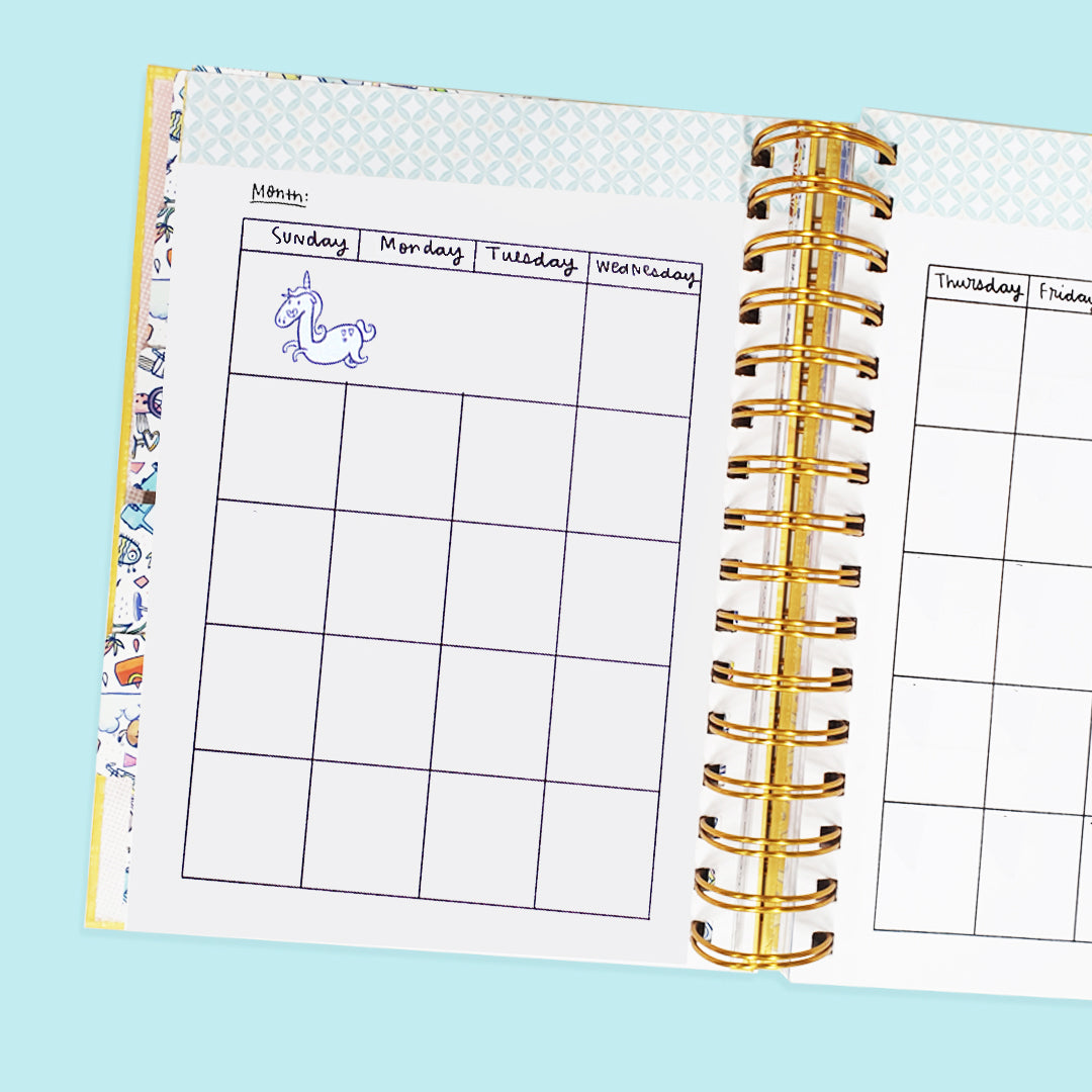 (Pack of 3) The Undated Ultimate Planner with FREE Undated Pocket Planner