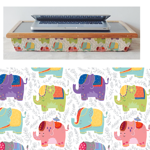 Elephants Lapdesk