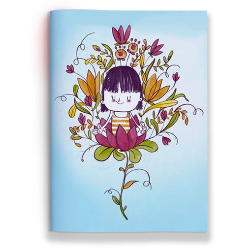 Yoga Flower Jotbook