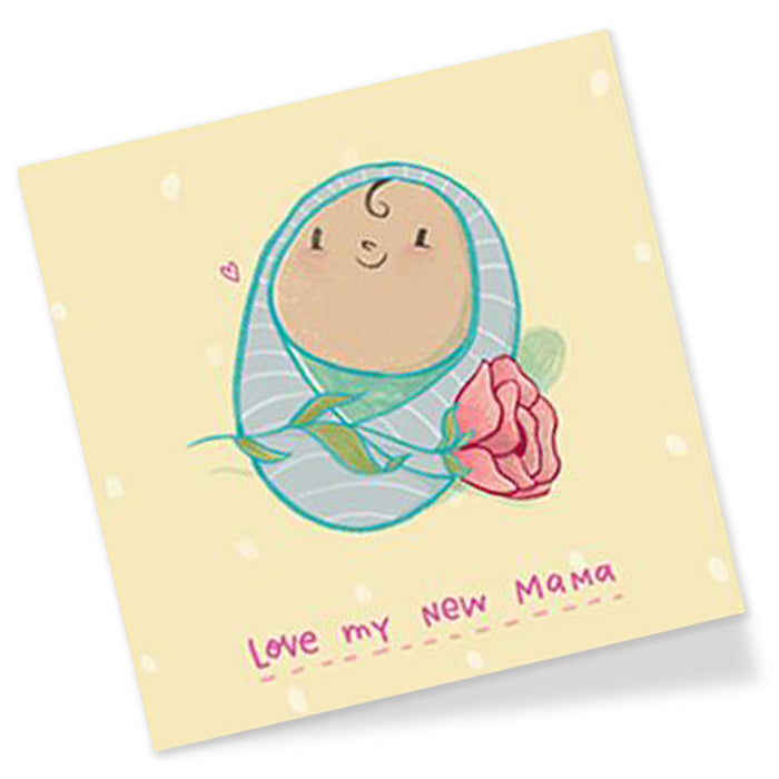 New Mama Premium Greeting Card