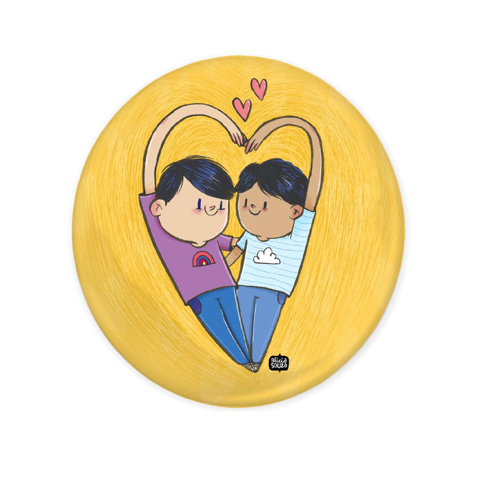Pride Badge - YELLOW