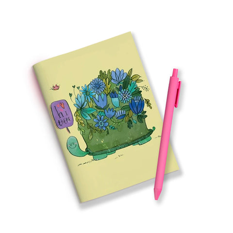 Turtle Flower Jotbook