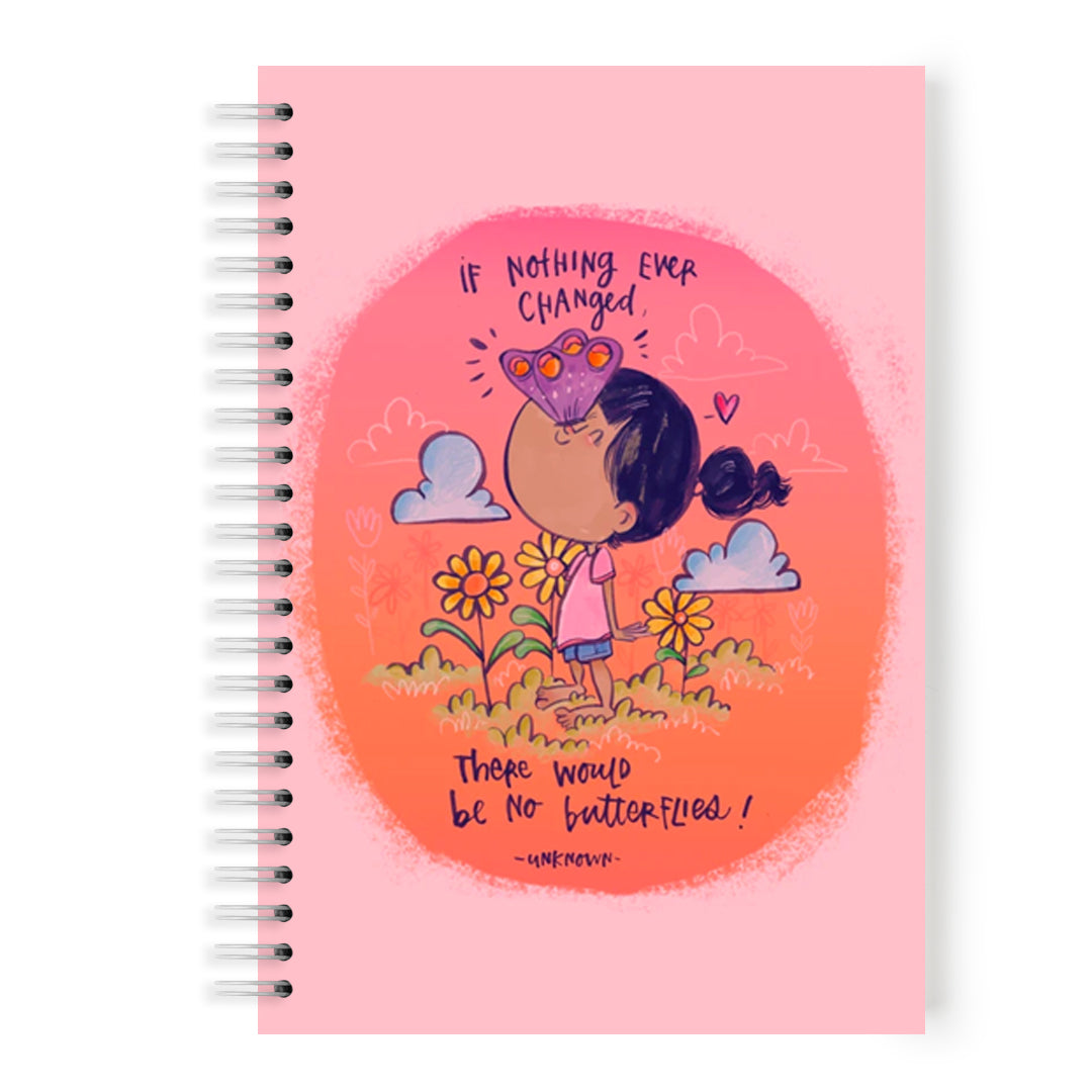 Butterflies Notebook