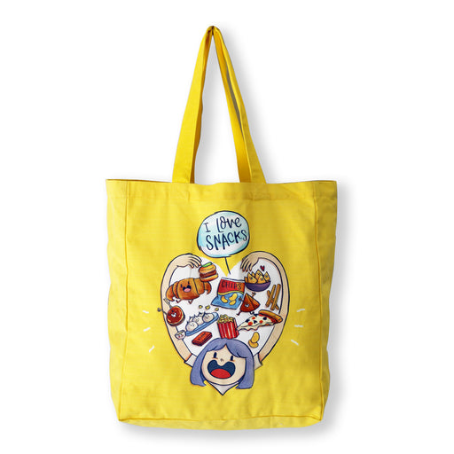 Snacks Tote Bag