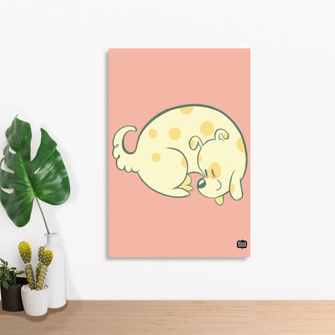 Doggie Curl Wall Art