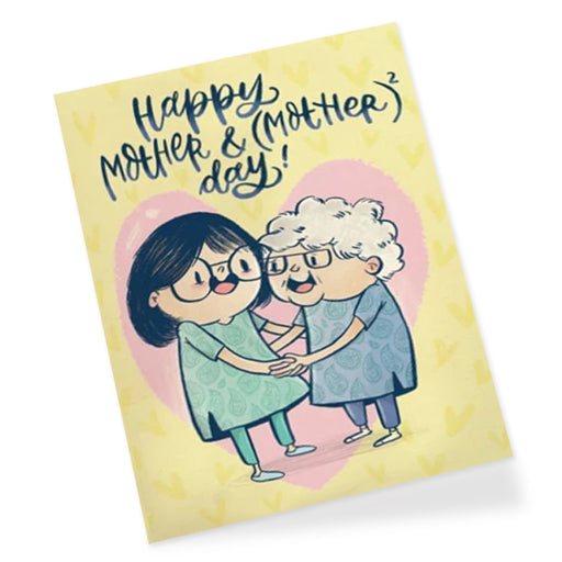 Mom to Mom Greeting Card