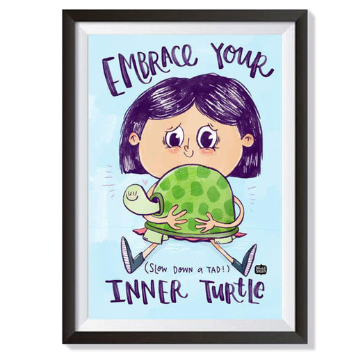Inner Turtle Wall Art