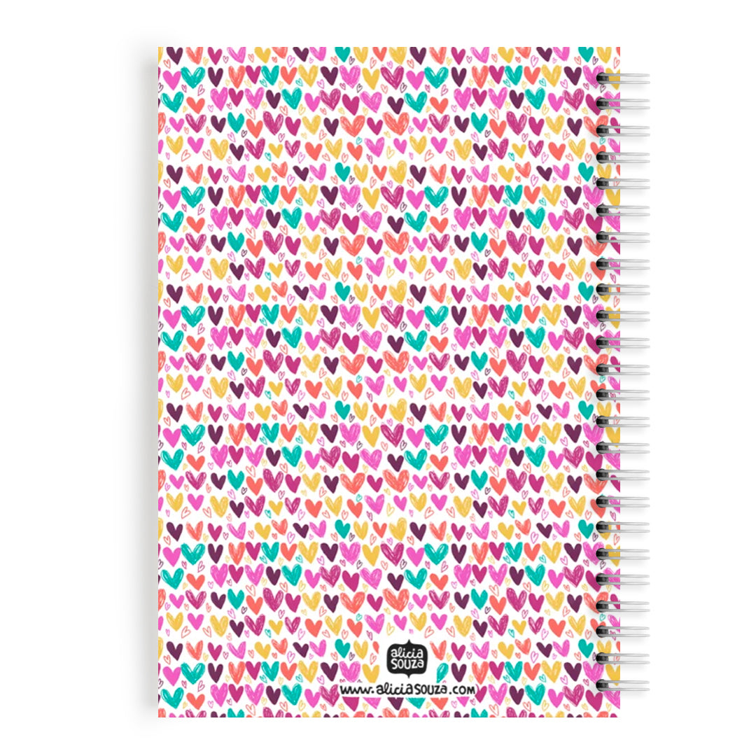 Hearts And Hearts Notebook