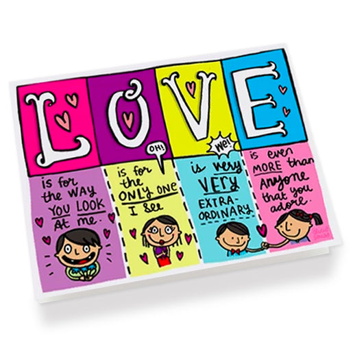 LOVE love Greeting Card
