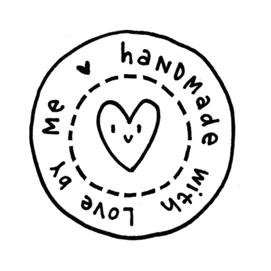 With Love By Me Stamp
