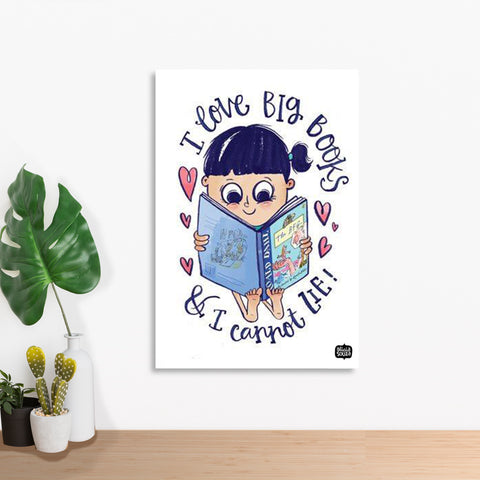 Big Books Wall Art