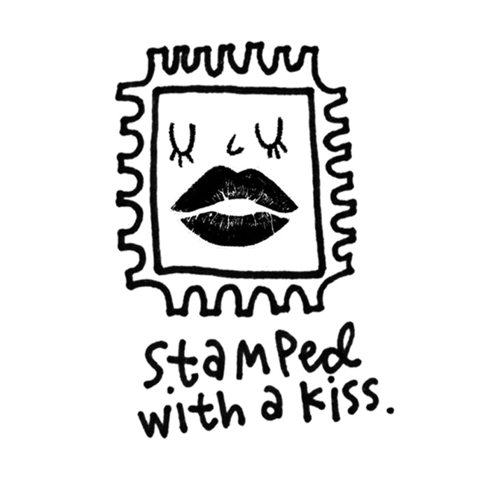 Stamped With a Kiss Stamp