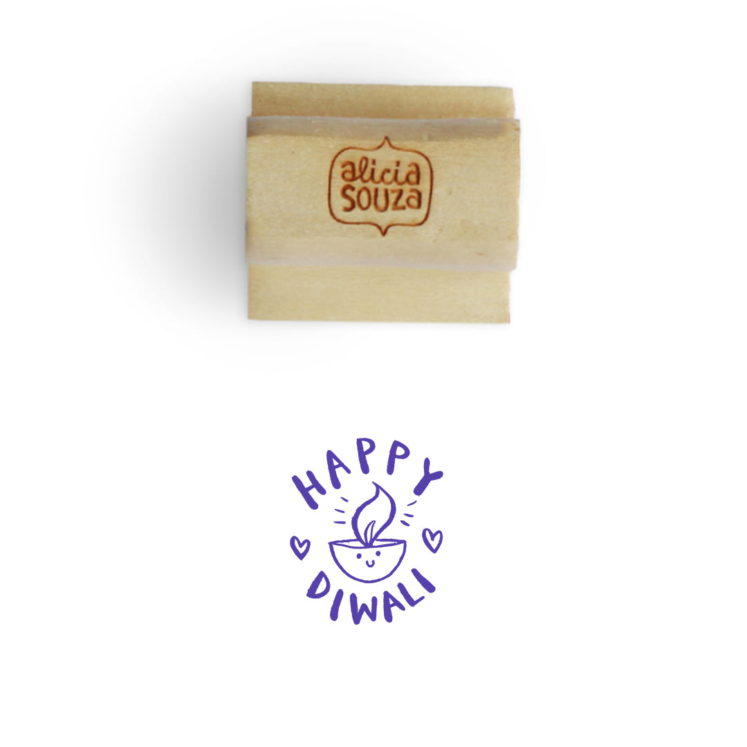 Happy Diwali Stamp