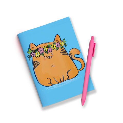 Cat Wreath Jotbook
