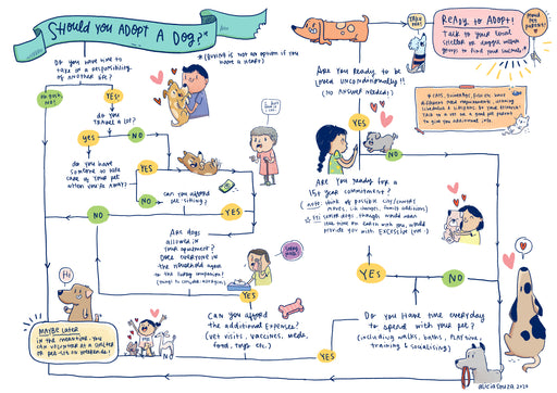 Should You Adopt a Dog Poster