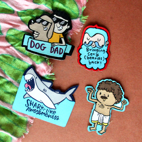 The Awesome Patch - SET OF 4 - Alicia Souza