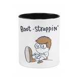 Boot Strapping Pen Stand