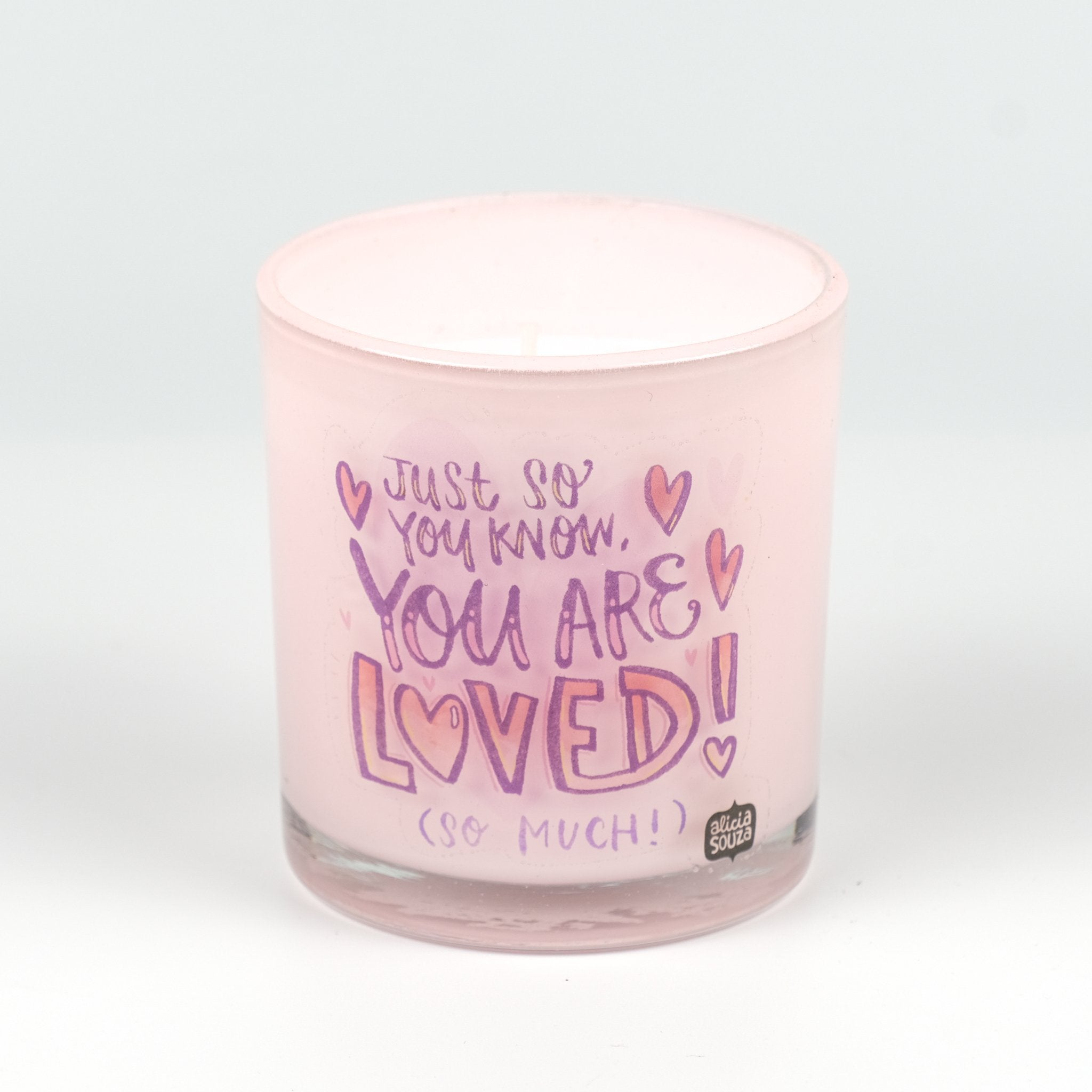Scented Candle + Greeting Card Combo
