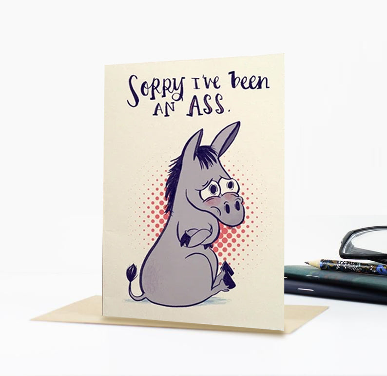 Ass-y Greeting Card