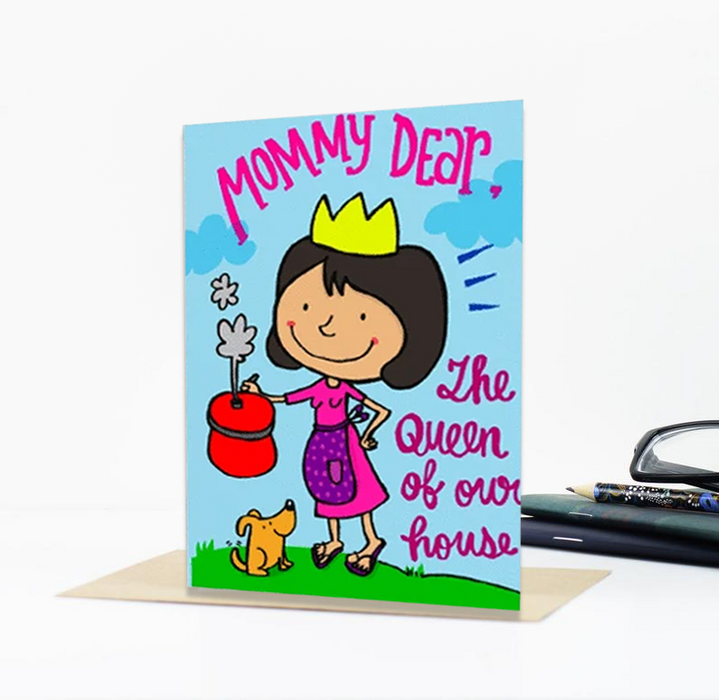 Mummy Dear Greeting Card