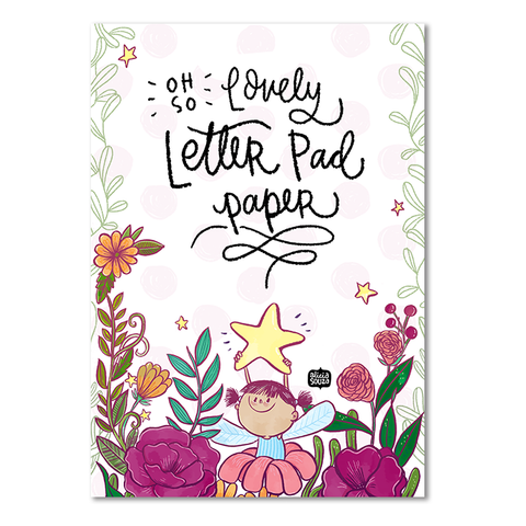 Girl Star Letterpad