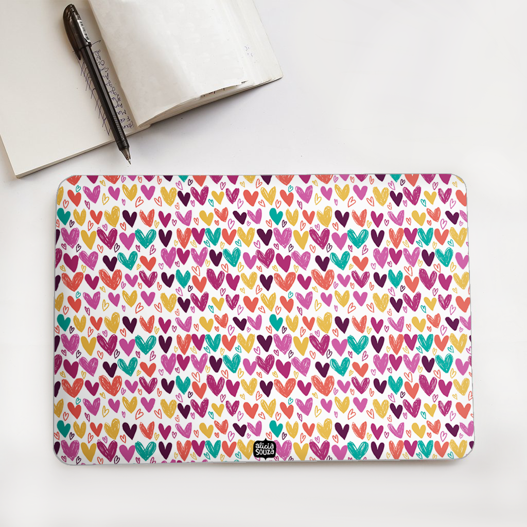 Hearts Laptop Skin