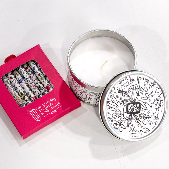 Colouring Candle - Activity Set