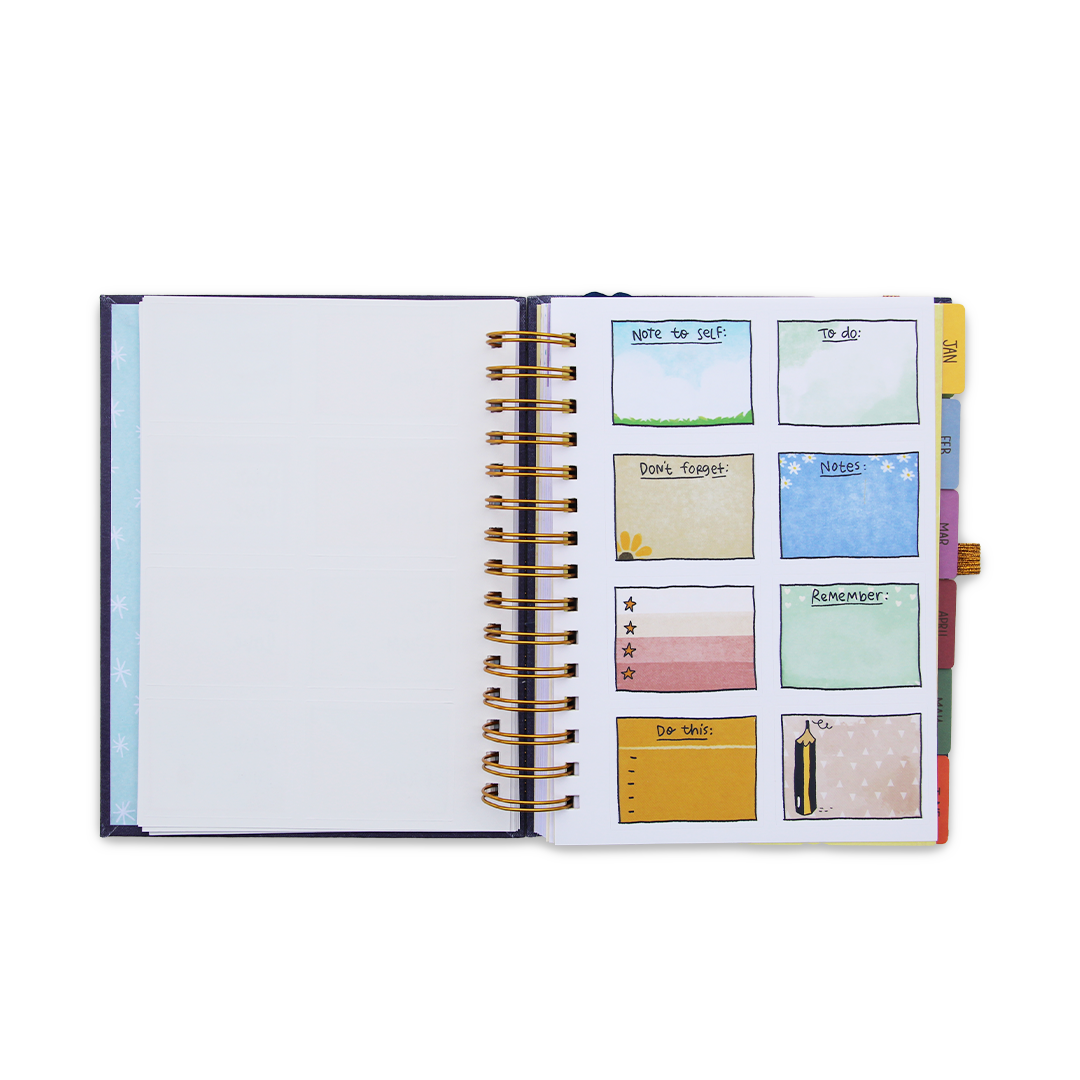 The 2021 Ultimate Planner & Pocket Planner + FREE Big Book of Stickers
