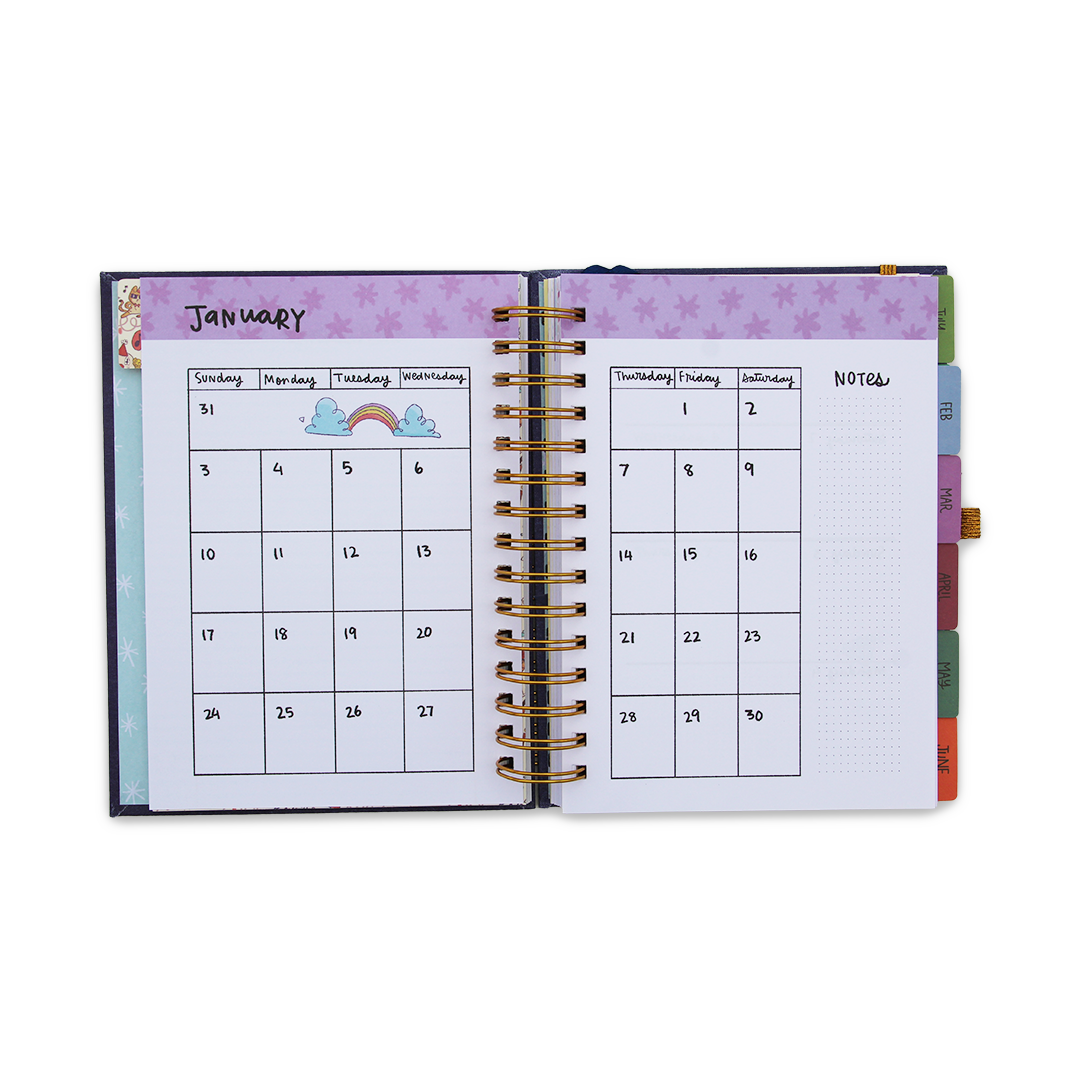 2021 Ultimate Planner + Custom Couple Stamp + Greeting Card Combo
