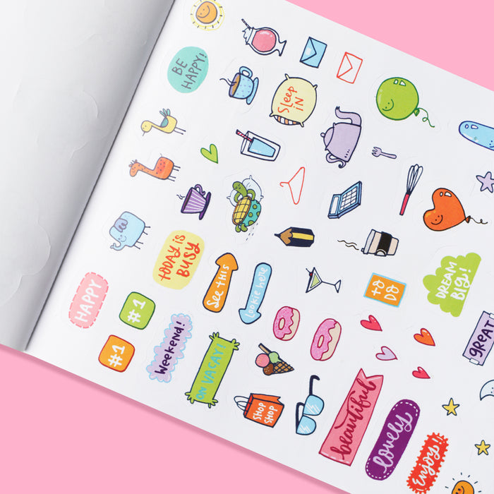 Big book of stickers