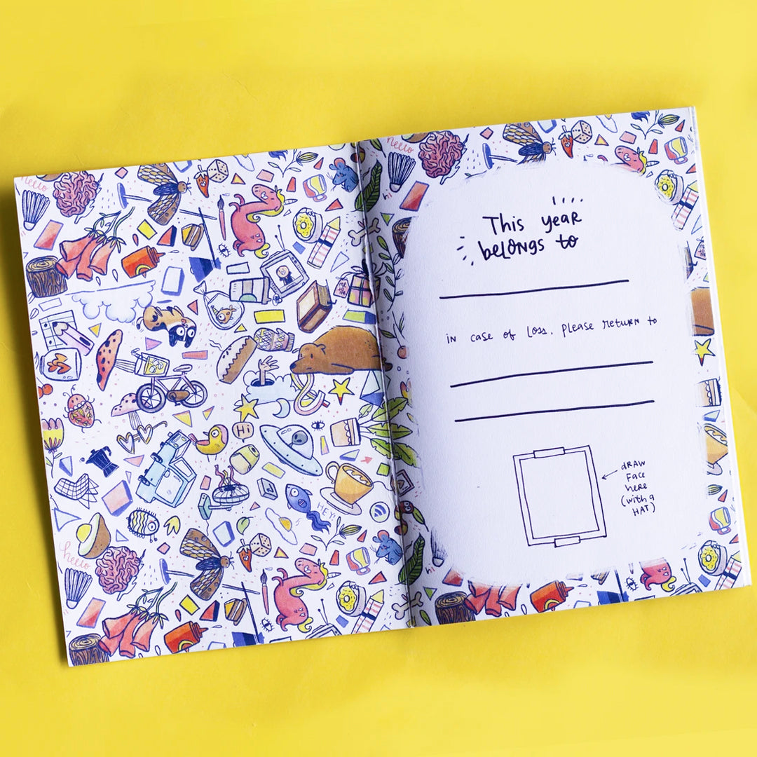 The Undated Ultimate Planner with FREE Undated Pocket Planner + FREE New Stickerbook