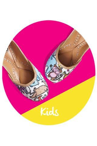 Kids - Colourful Zoo Footwear