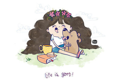Life is Good Wall Art - Alicia Souza