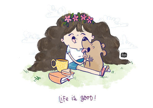 Life Is Good Decal - Alicia Souza